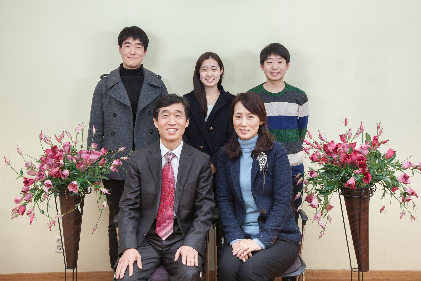 김원태 목사 가정